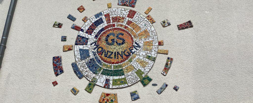 Mosaik schmal